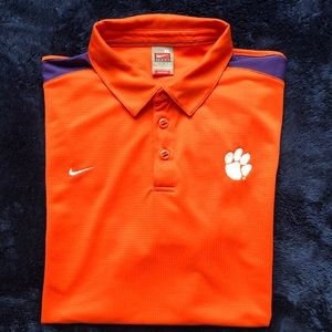 Nike Clemson Dri-fit polo